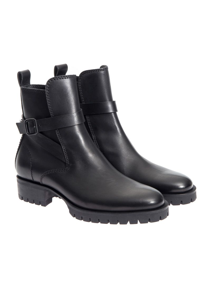 Dsquared Kris Leather Ankle Boots