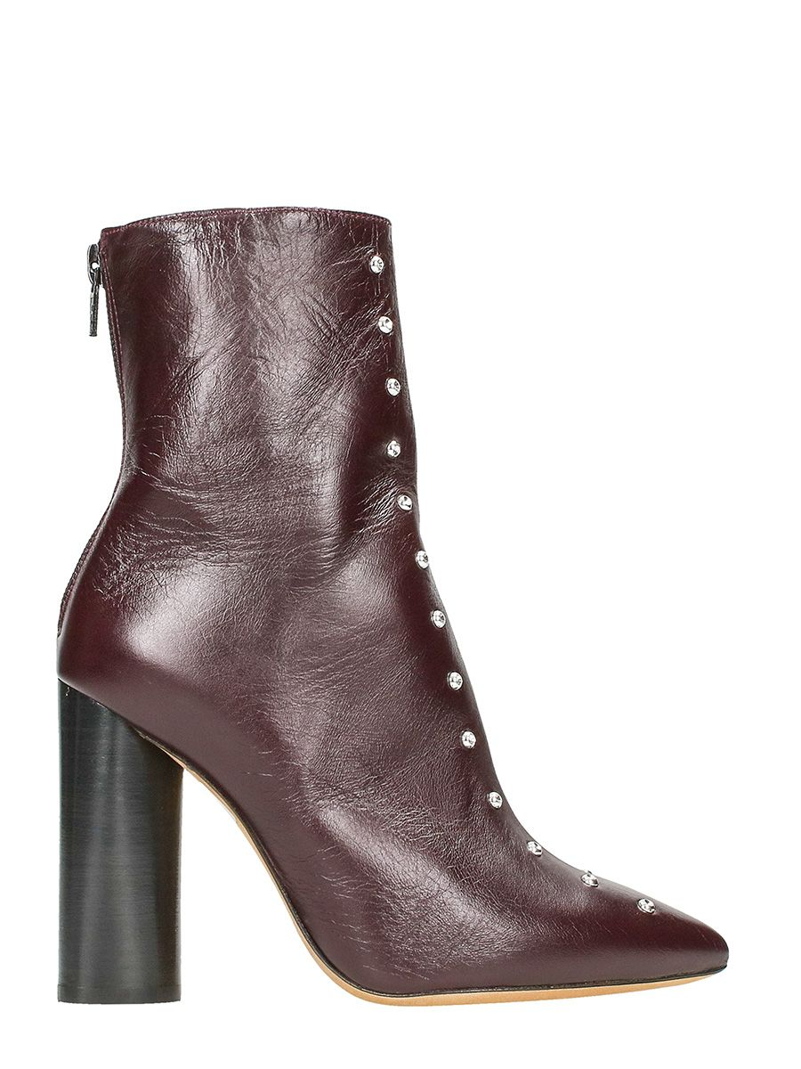 IRO Birok Studded Leather Booties