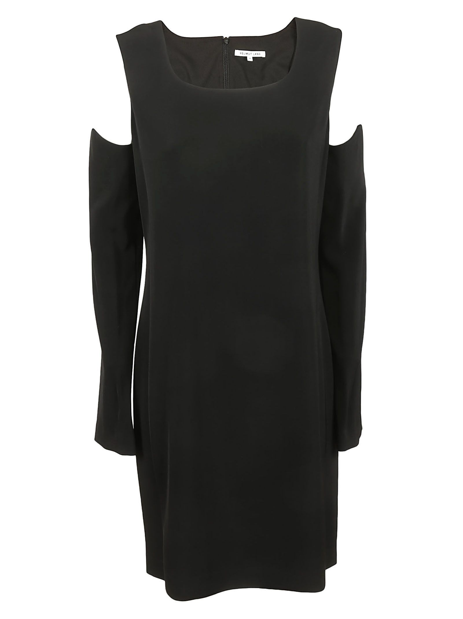 Helmut Lang Cut-out Detail Dress