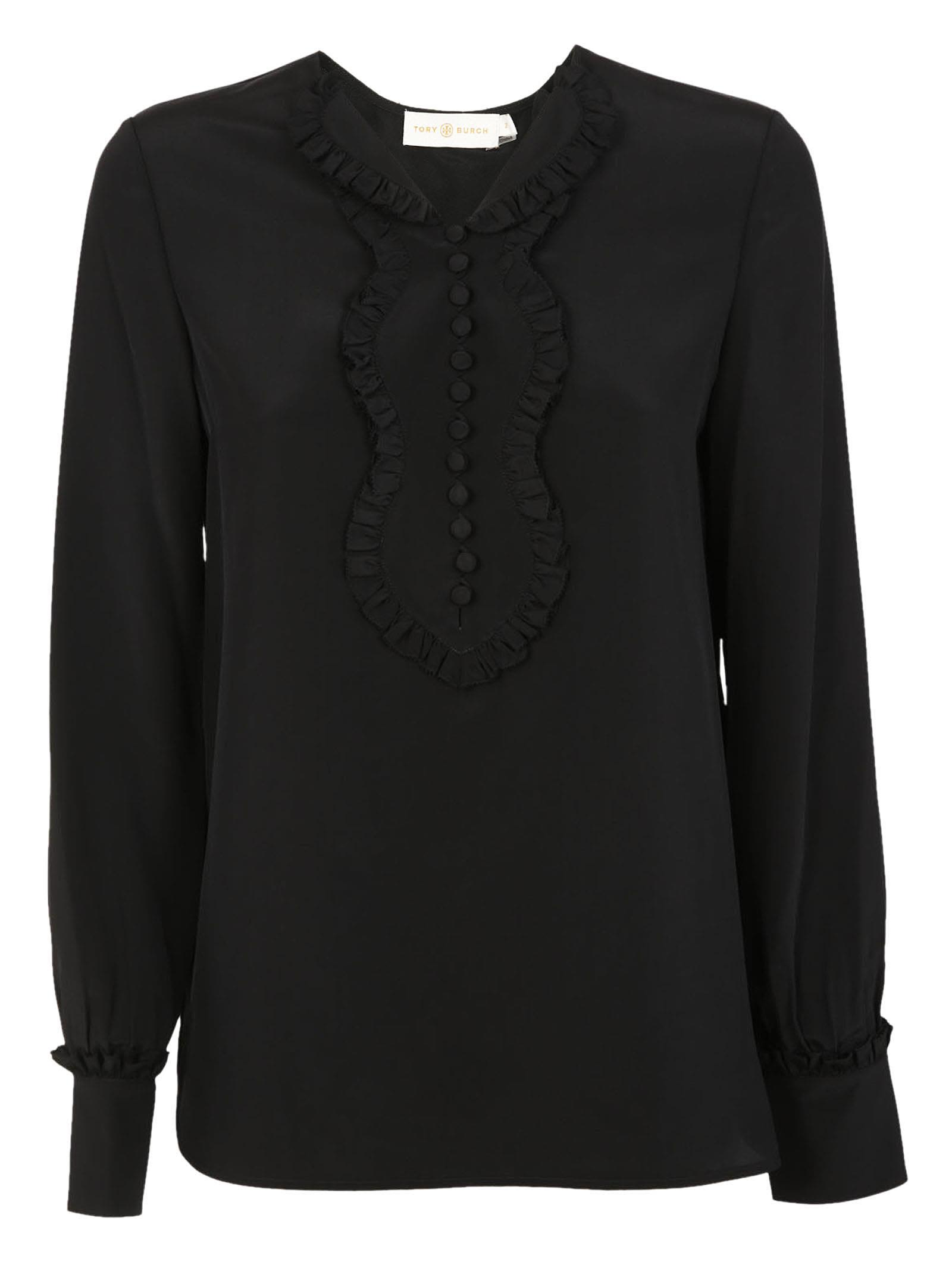 Tory Burch Frill Detailed Blouse