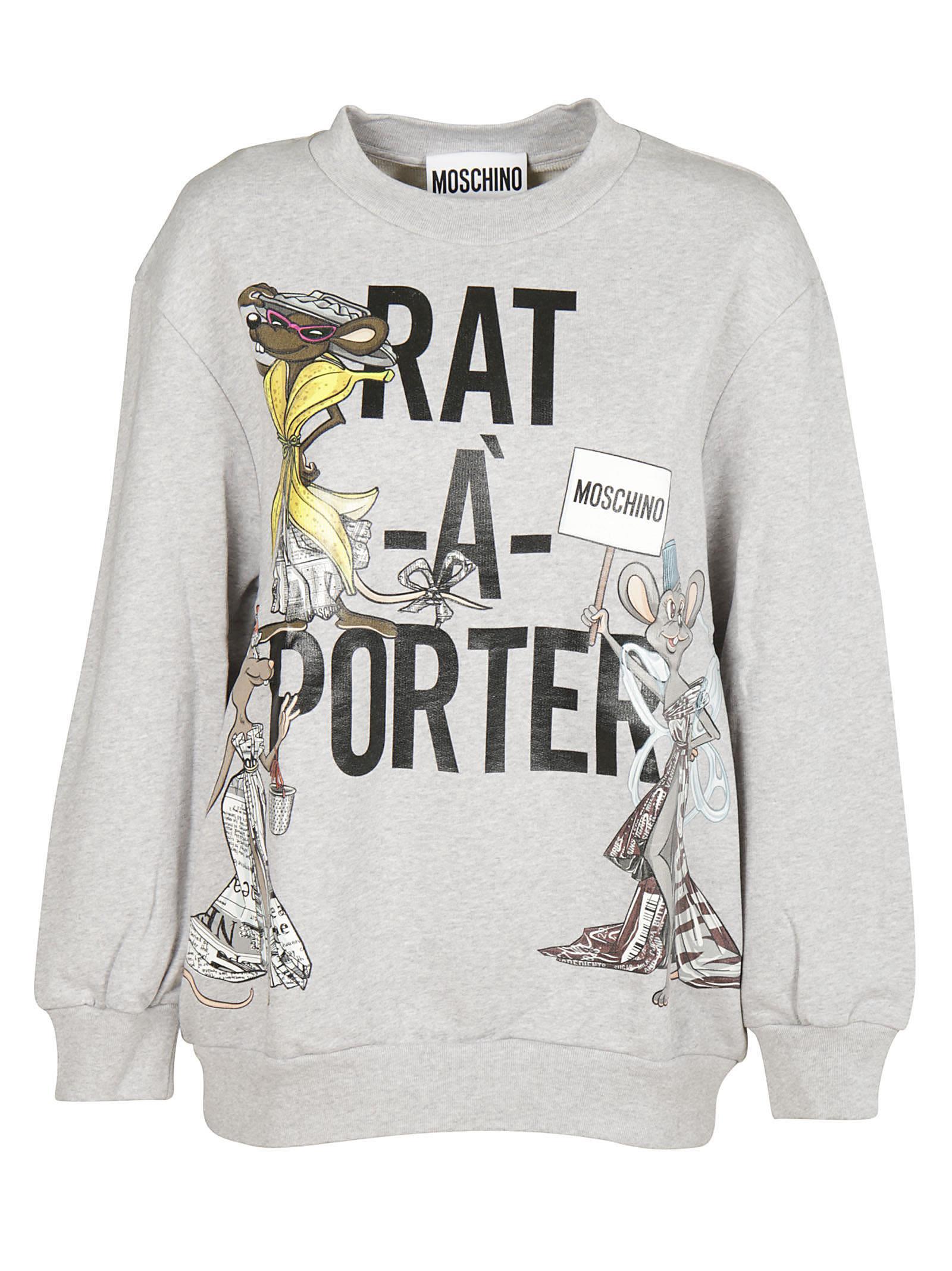 Moschino Rat-a-porter Sweatshirt