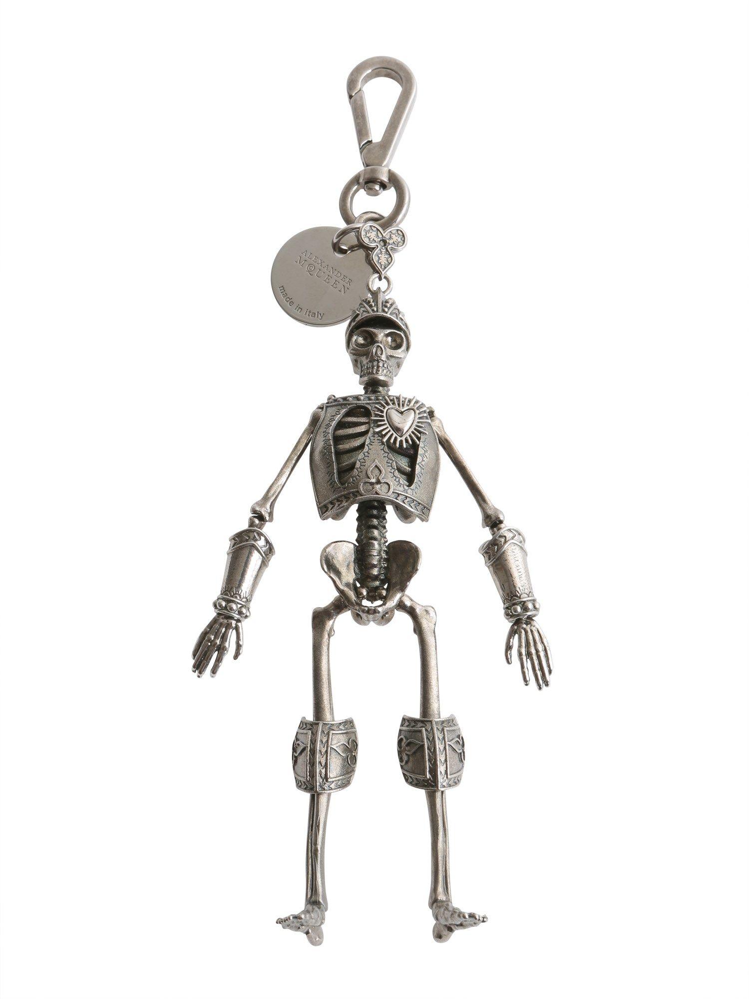 Skeleton Armour Key Ring