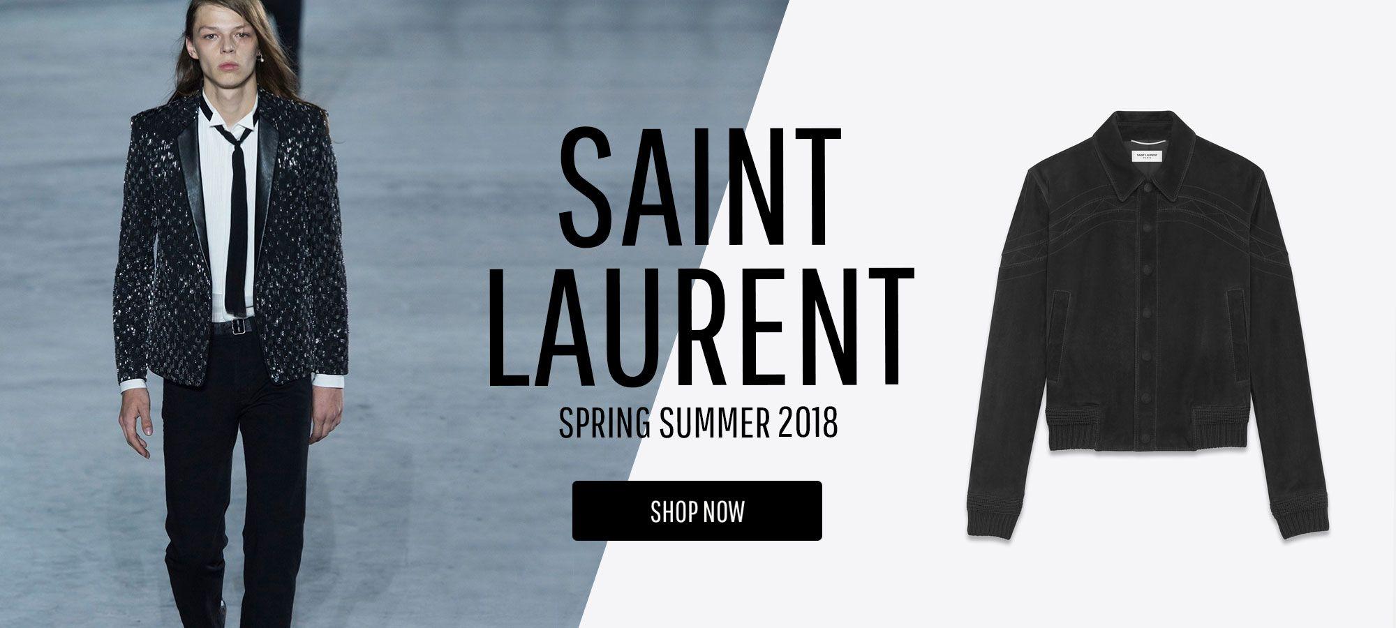 Saint Laurent Men - Spring Summer 2018
