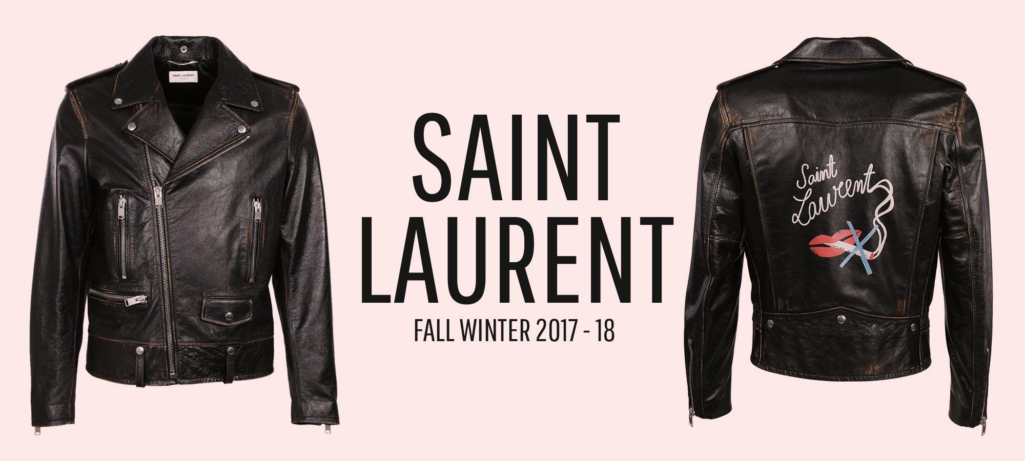 Saint Laurent Men - Fall Winter 2017