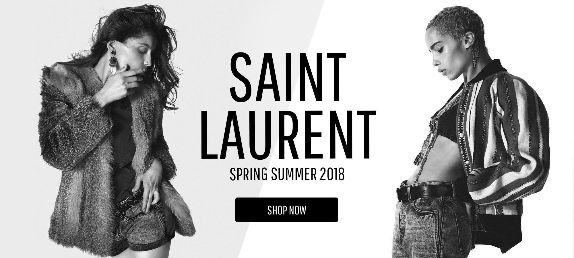 Saint Laurent Women - Spring Summer 2018