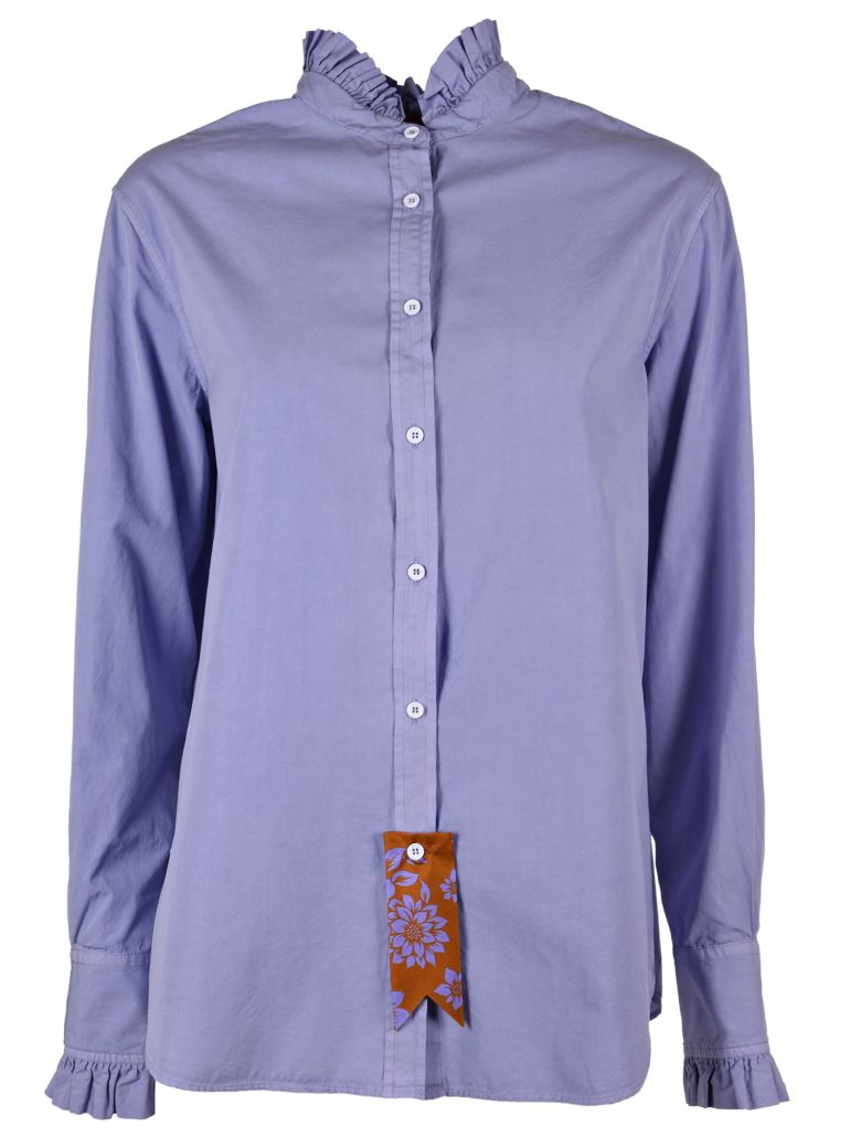 The Gigi FRILL TRIM SHIRT
