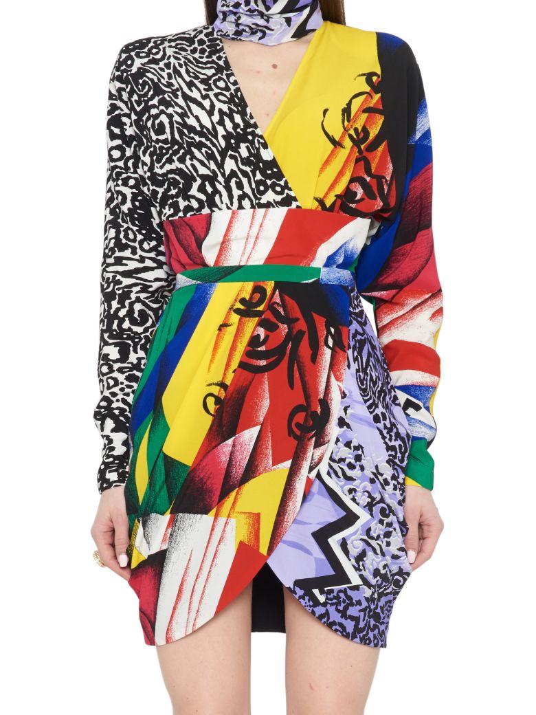 Versace 'clash' Dress - Multicolor