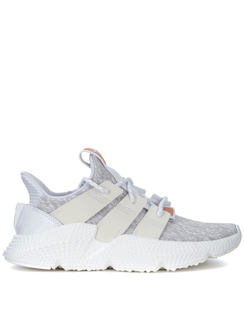 PROPHERE WHITE AND GREY SNEAKER