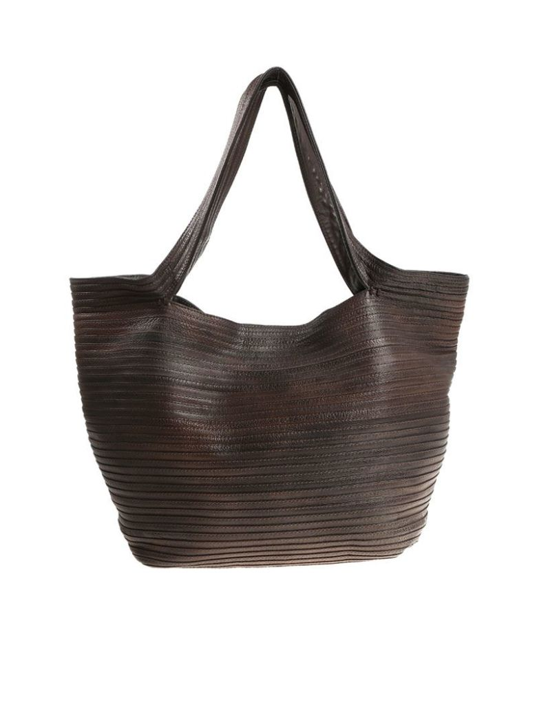 MAJO - Bomp Bag in Chocolate Brown