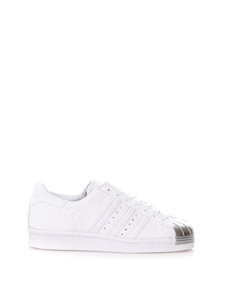 SUPERSTAR LEATHER SNEAKERS WITH METAL TOE