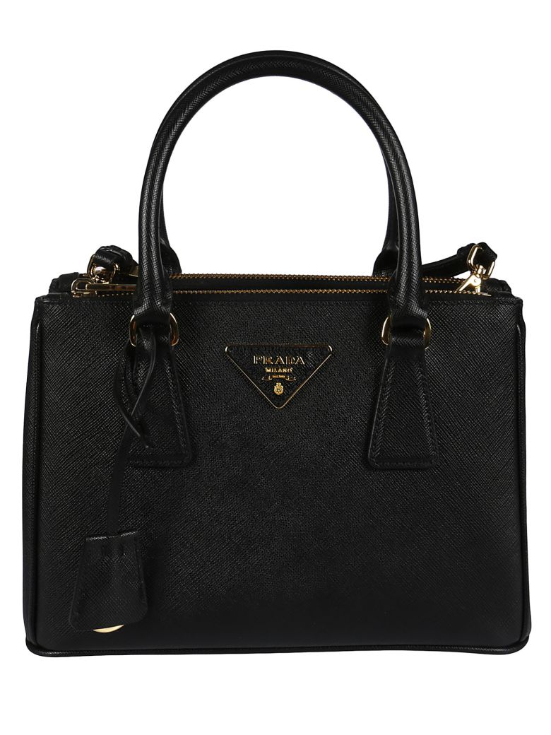 fc7b766a1882b Prada Sabbia Saffiano Lux Leather Small Tote Bag Bn1874