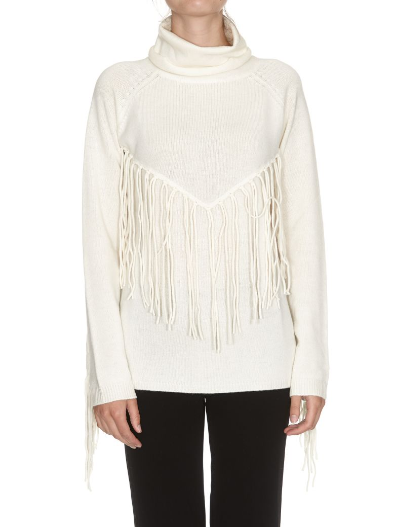 LAFRINGE TURTLENECK SWEATER