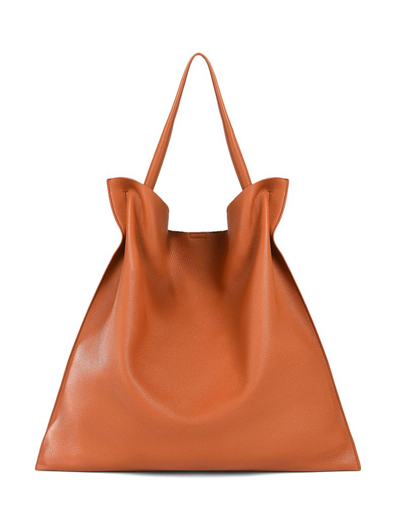 XIAO MD GRAINED-LEATHER TOTE