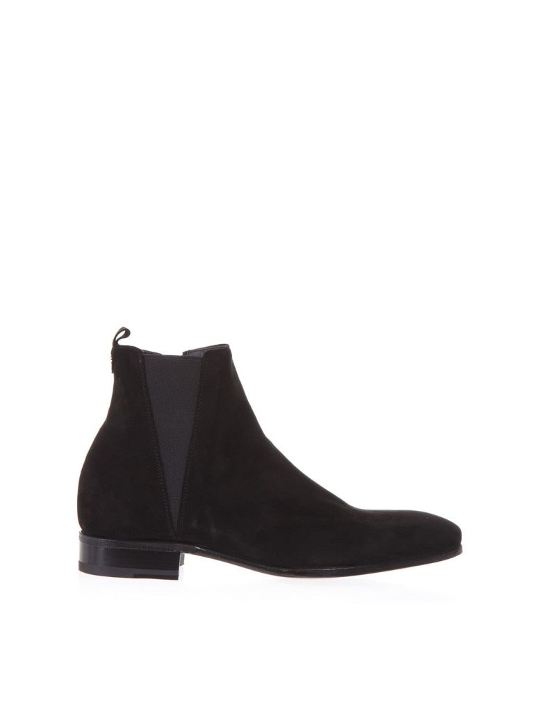 Dolce E Gabbana Men'S A60176Au99880999 Black Suede Ankle Boots from DOLCE & GABBANA