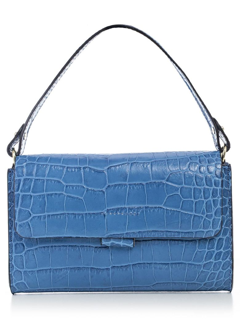 ALMALA Clutch in Bluette