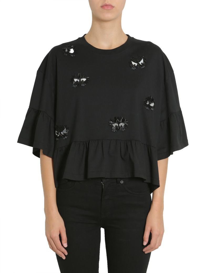 MCQ ALEXANDER MCQUEEN MONSTER EMBELLISHED TOP