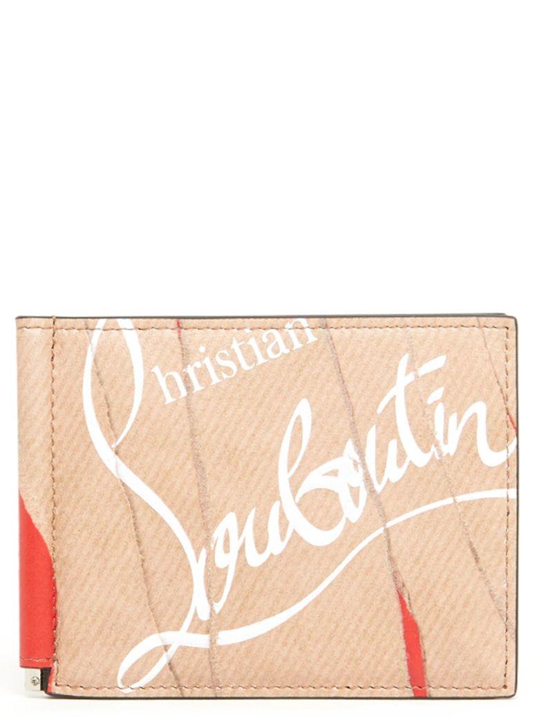 Christian Louboutin Wallets CLIPSOS KRAFT LOUBI WALLET