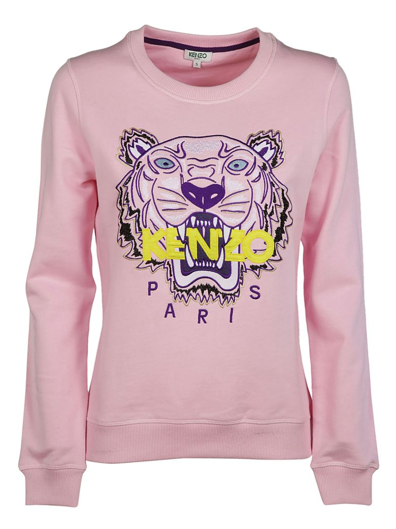 TIGER EMBROIDERED SWEATSHIRT