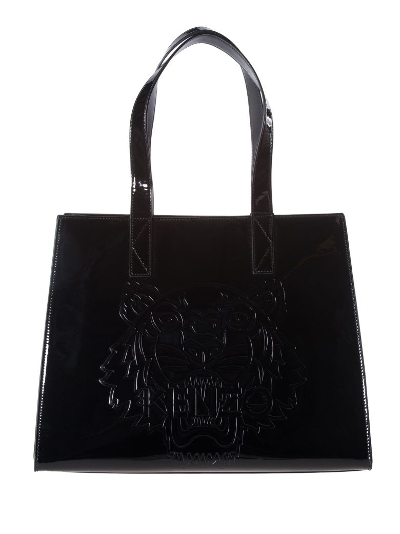 TIGER EMBOSSED TOTE