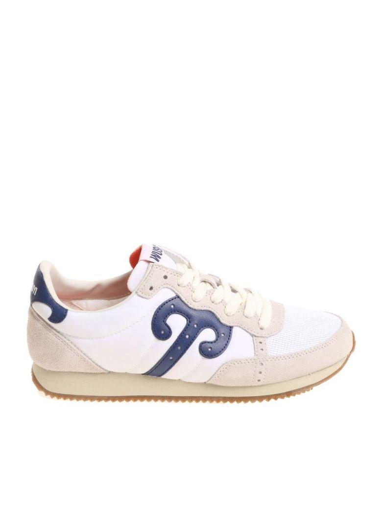 White fabric sneakers Wushu Ruyi zXfOlX7W
