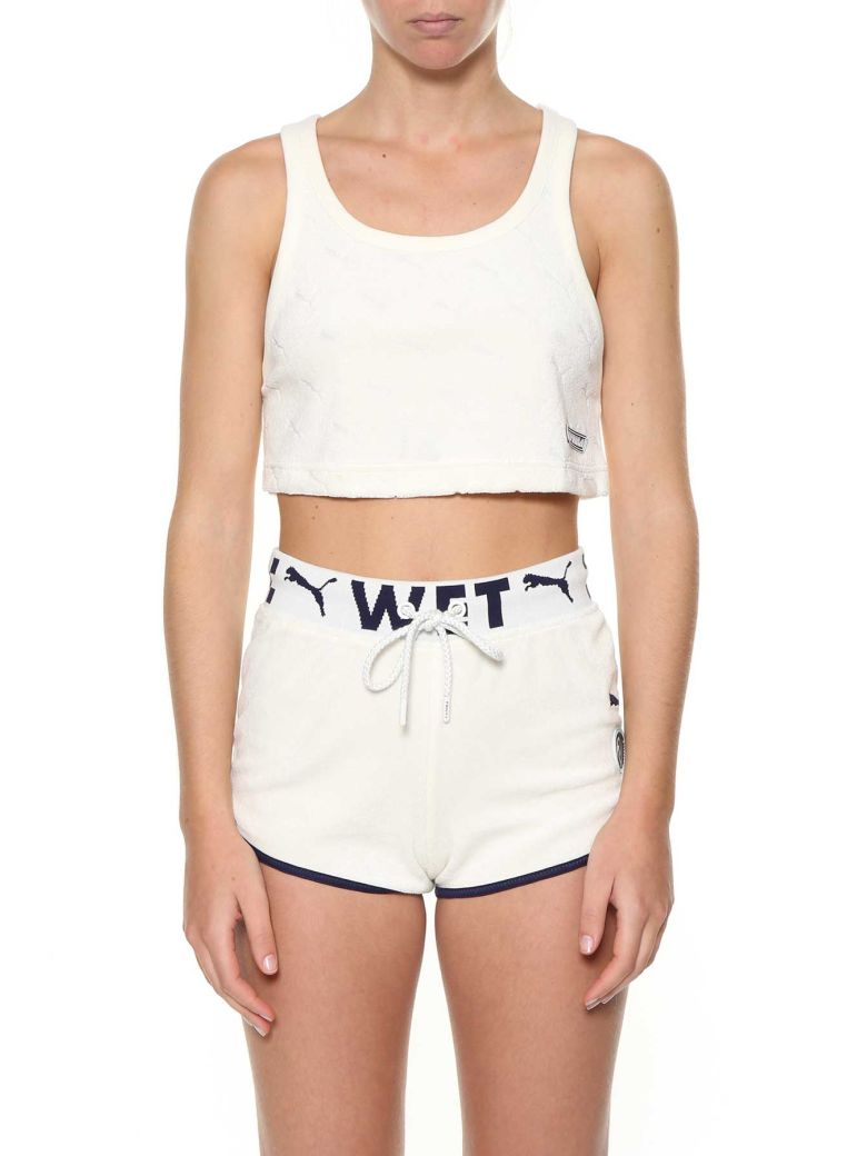 CLOTH CROPPED TOP