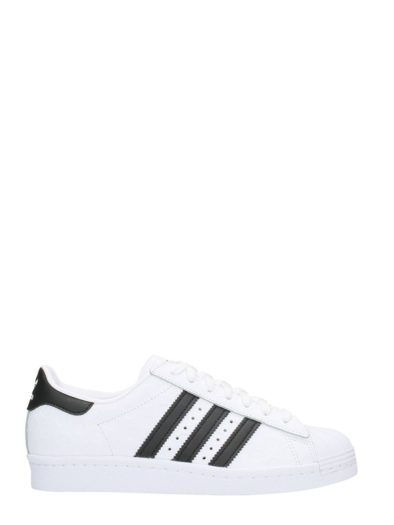 Adidas Originals Adidas Women'S Superstar Casual Sneakers From Finish Line In White