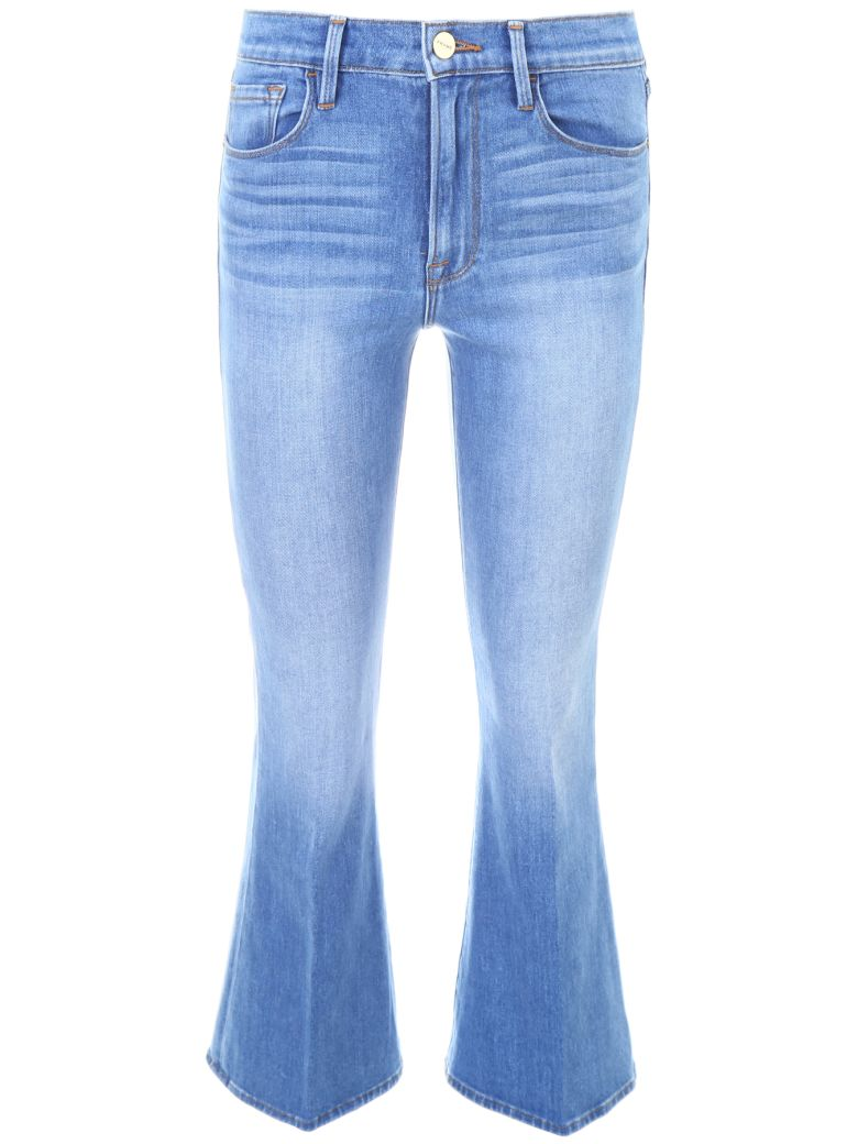 LE CROP FLARE JEANS