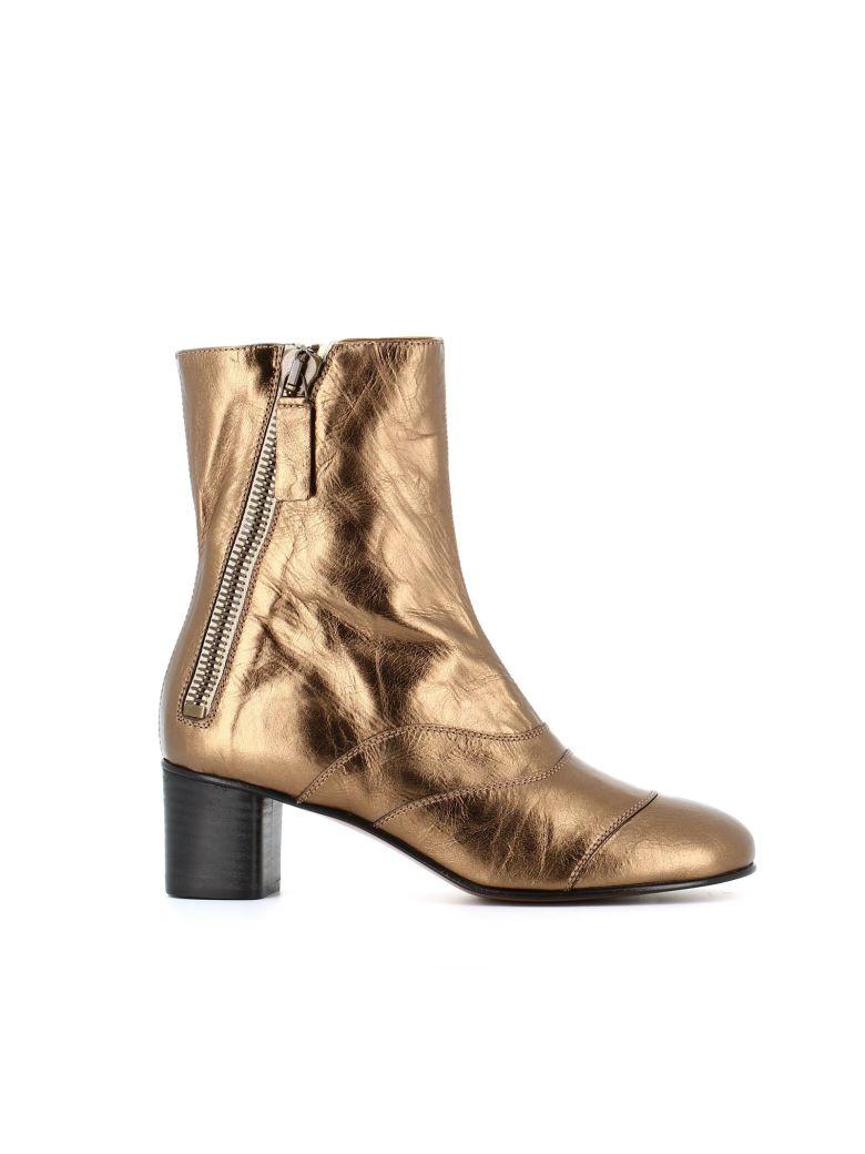 """Chloé """"lexie"""" Ankle Boots - Bronze"""