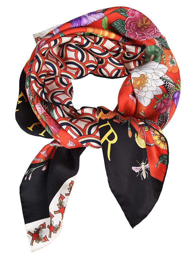 Patchwork Foulard En Soie Imprimé - Multicolor Gucci 65ufPCnD3