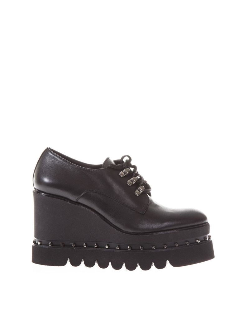 RAS NAPPA HIGH WEDGE LACE UP MOCASSIN