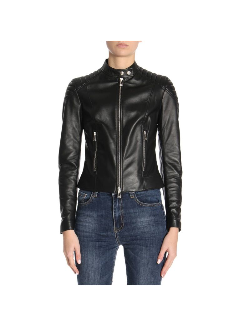 QUILTED MOTOR JACKET