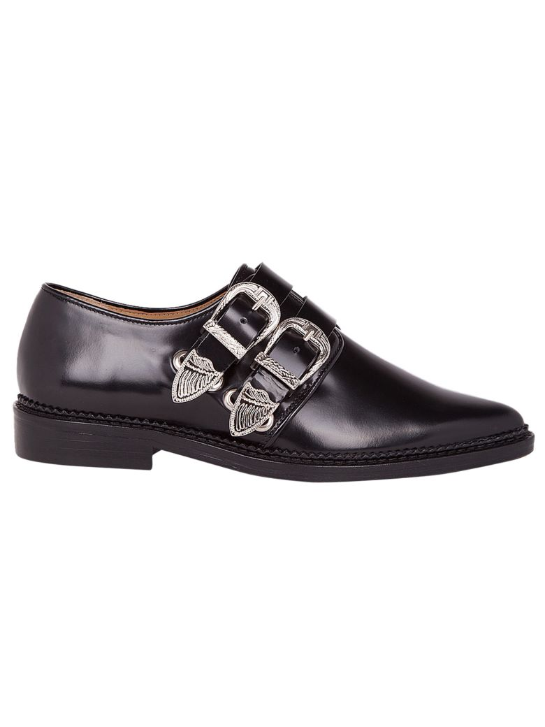 DOUBLE-BUCKLE MONK SHOES
