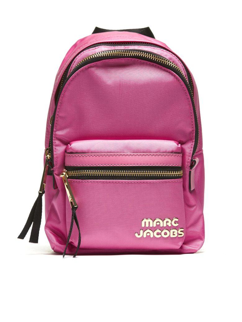 ec51d48b4176e Marc Jacobs Mini Logo Backpack In Fuxia