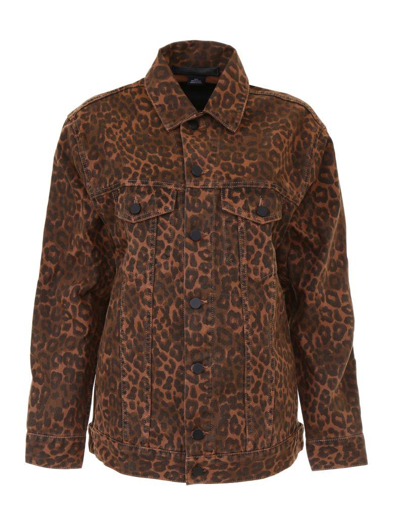 Daze Leopard Print Jacket, Tan Leopard Printmarrone