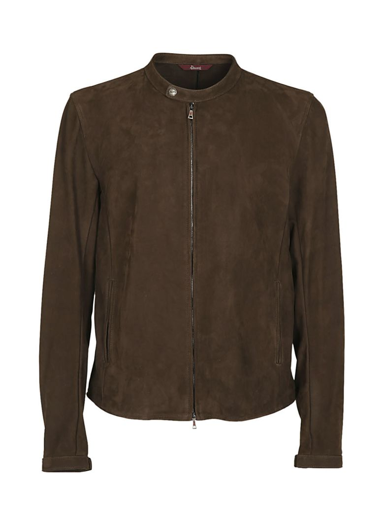 STEWART Zipped Jacket in Fango