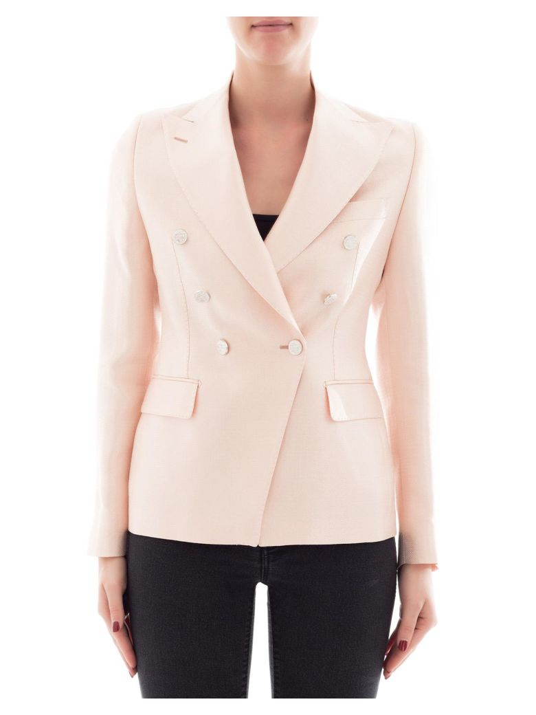 Tagliatore PINK FABRIC JACKET