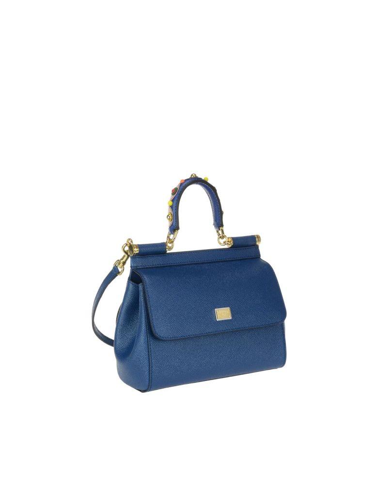 449eebbdf5 Dolce   Gabbana Small Sicily Bag In Royal Blue