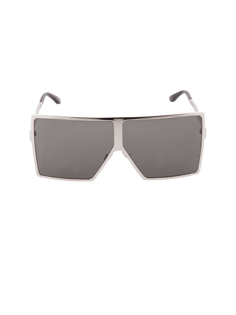 Women'S Betty Oversized Square Shield Sunglasses, 68Mm in 006 Silver