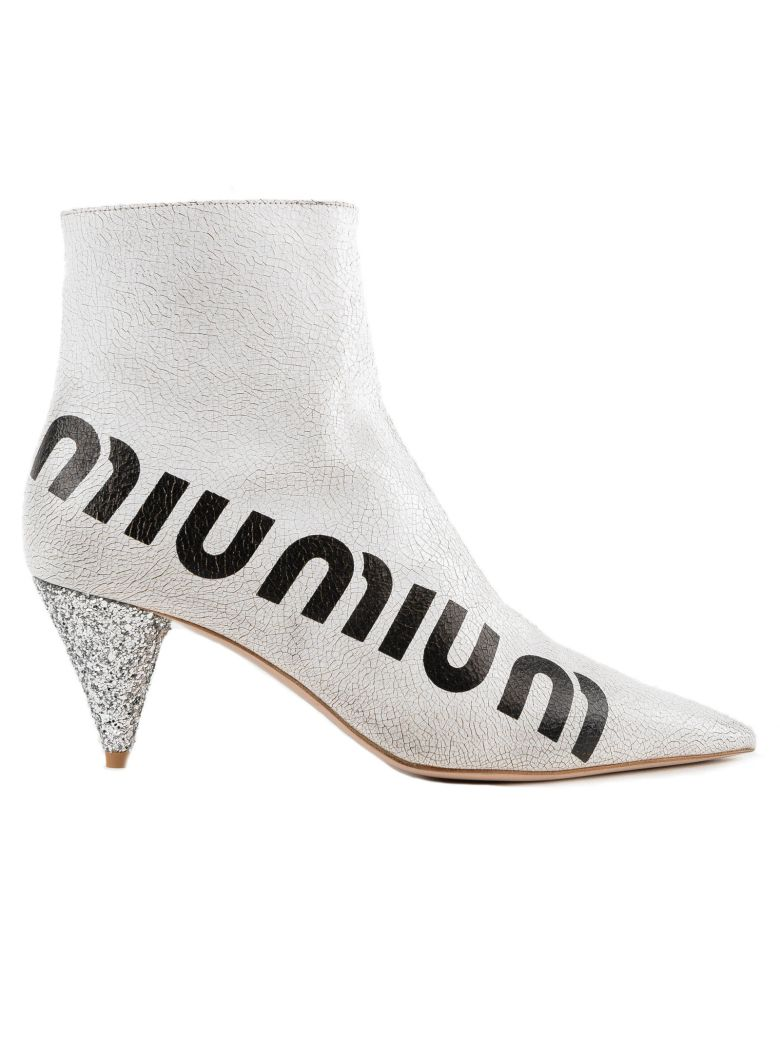 Miu Miu crackled logo boots outlet exclusive view for sale sale choice clearance ebay qMCGgFe