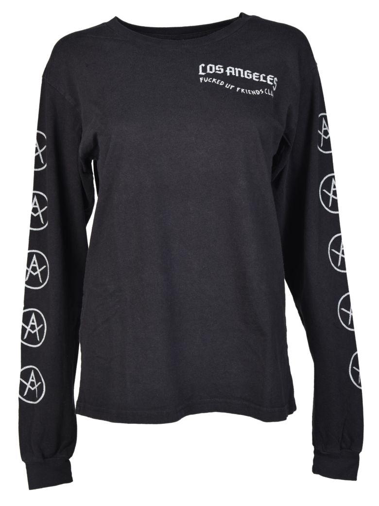 LOCAL AUTHORITY LA Local Authority Printed Sweatshirt in Black