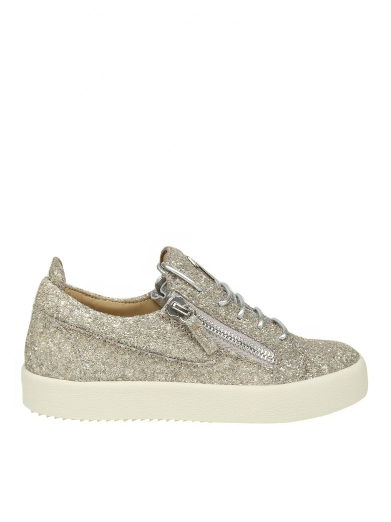 SNEAKERS MAY IN FABRIC WITH GLITTER