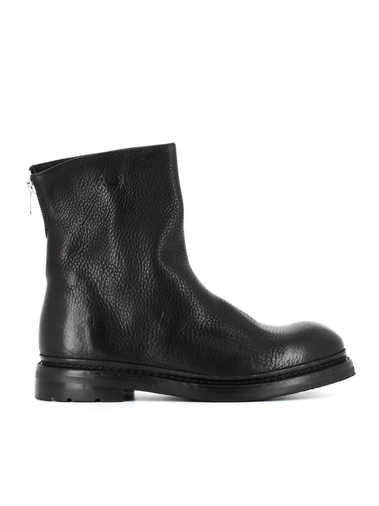 "THE LAST CONSPIRACY Biker Boot ""Regin"" in Black"