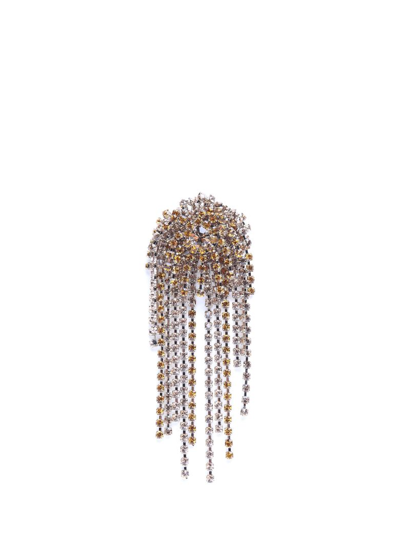 CRYSTAL-EMBELLISHED BROOCH