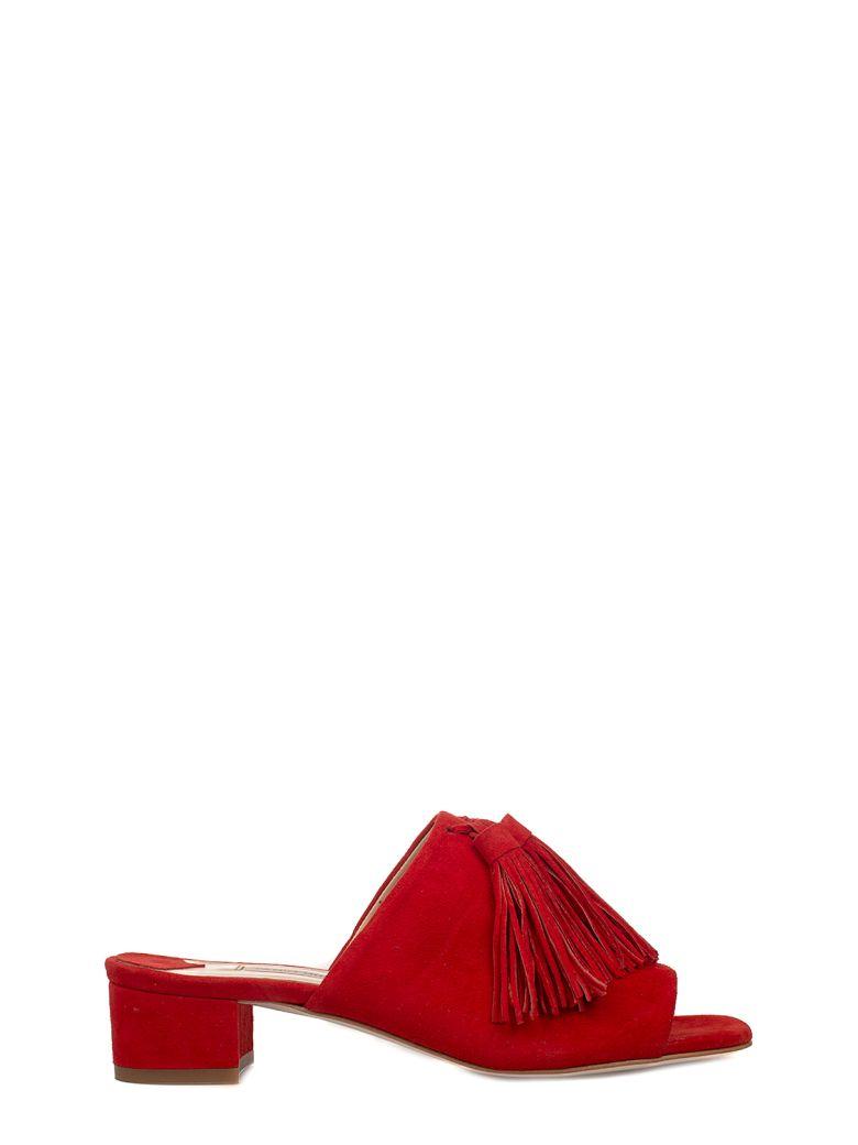 Fabio Rusconi Amalfi Suede Heeled Sandal Cheap Sale High Quality tCePfQF