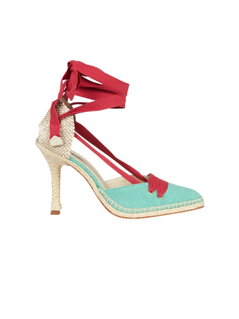 CASTAÑER BY MANOLO BLAHNIK Castaner High Heel Sandals in Verde