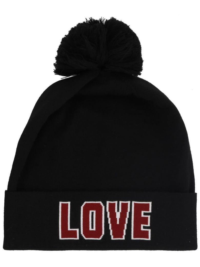 Dolce E Gabbana Women'S Fx282Tjavhts9000 Black Wool Hat