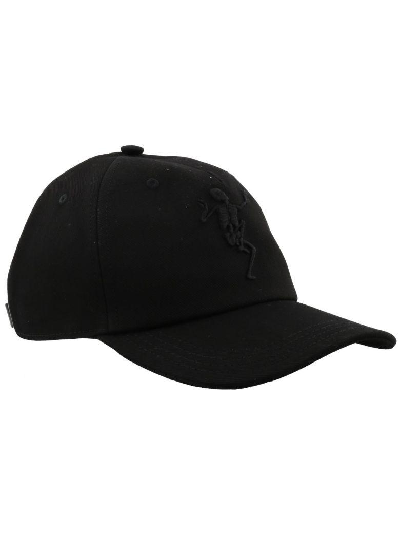 Dancing Skeleton cap - Black Alexander McQueen C5wfEYXi