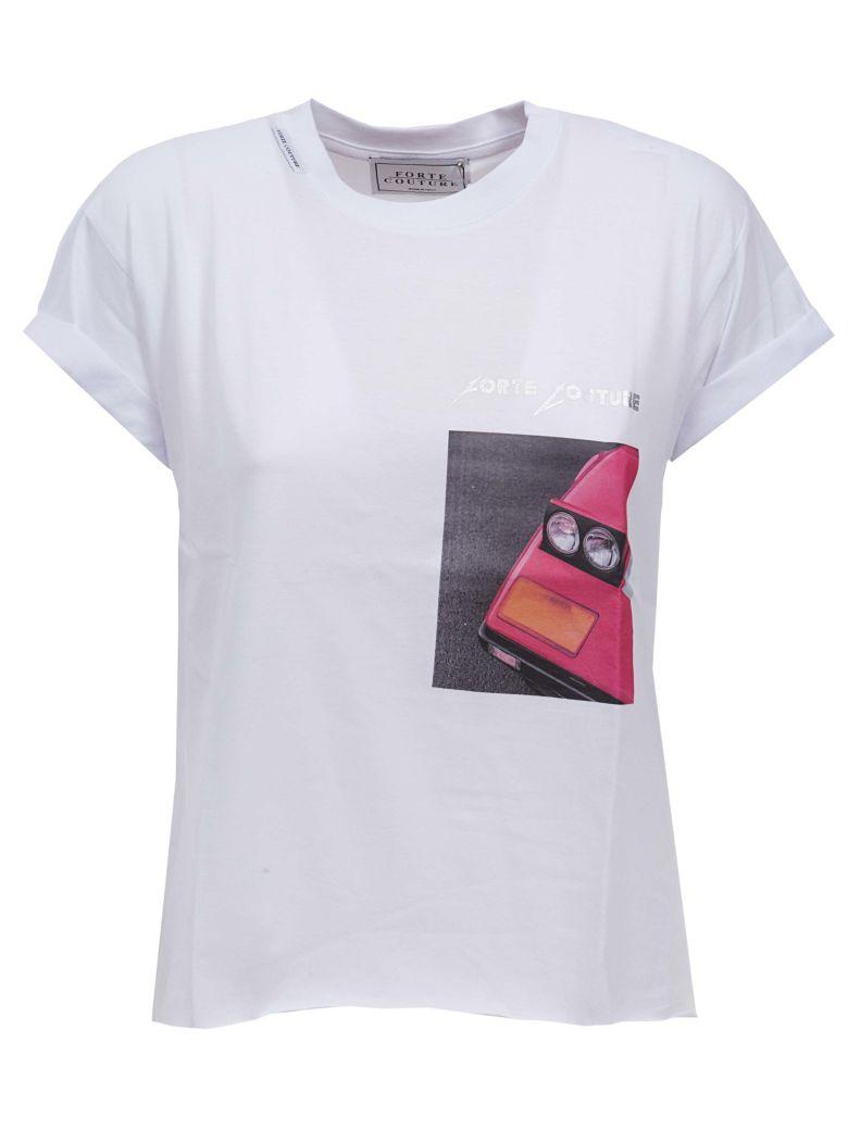 coche parachoques del con Couture Camiseta estampado Forte de fqxOnX8v