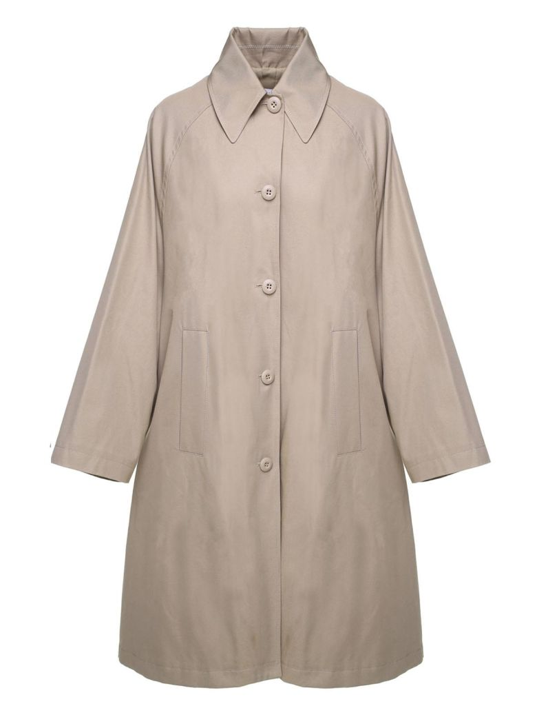 COTTON OVERSIZED TRENCH COAT