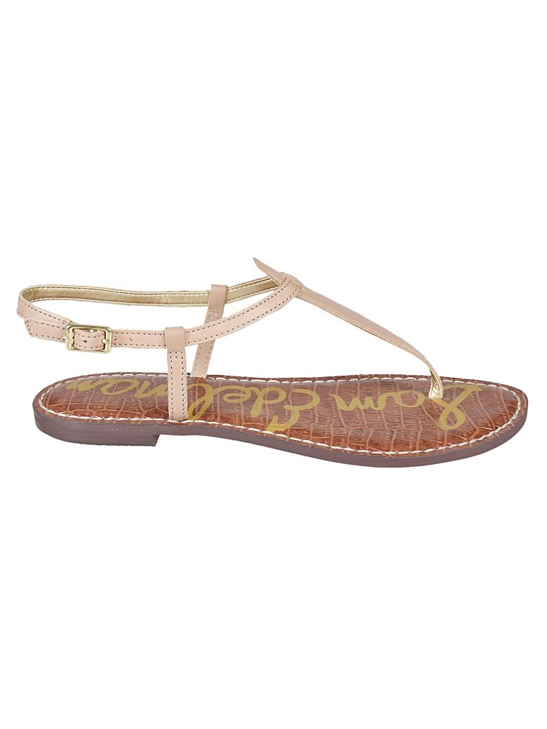 87a0736a865465 Sam Edelman Gigi Flat Sandals In Almond